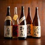 【ドリンク】 焼酎や日本酒も揃う充実のラインナップ