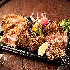 人気熟成肉3種盛り合わせ