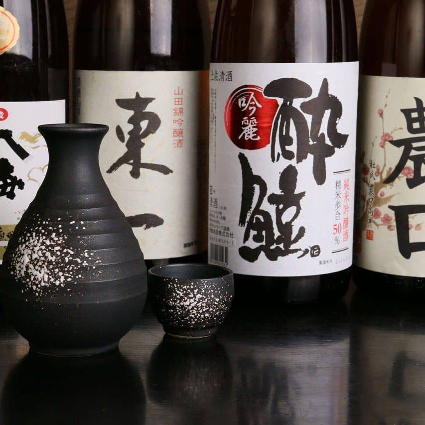 九州の地酒100種以上ご用意