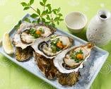 口の中でとろける生牡蠣は絶品!