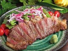 A5ランク山形和牛を使用したステーキ