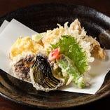 七、旬の天ぷら 又は、 季節のかき揚げ