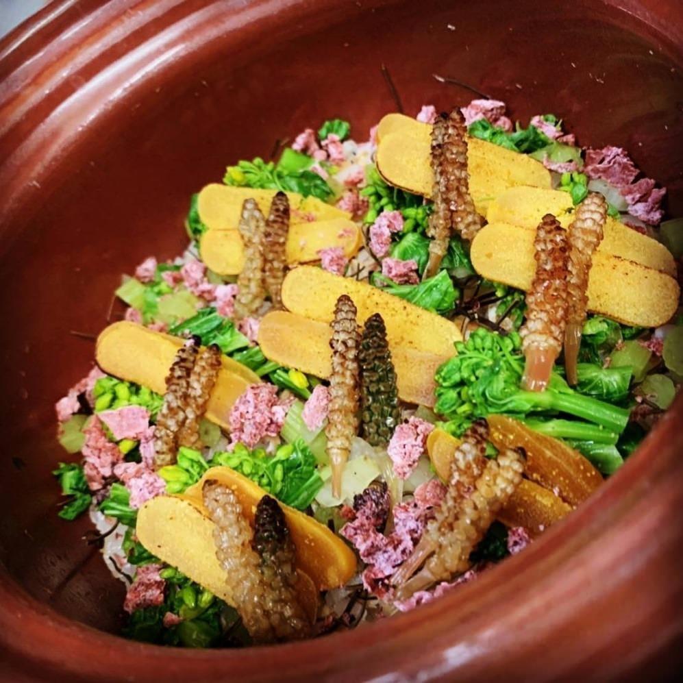 四季折々の食材で彩る鮮やかなひと品