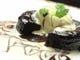 中からトロ~リ暖かチョコと冷たいビーンズバニラアイスがベストマッチ フォンダンショコラ