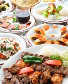 トルコ料理 ウスキュダル 新宿南口店 コースの画像