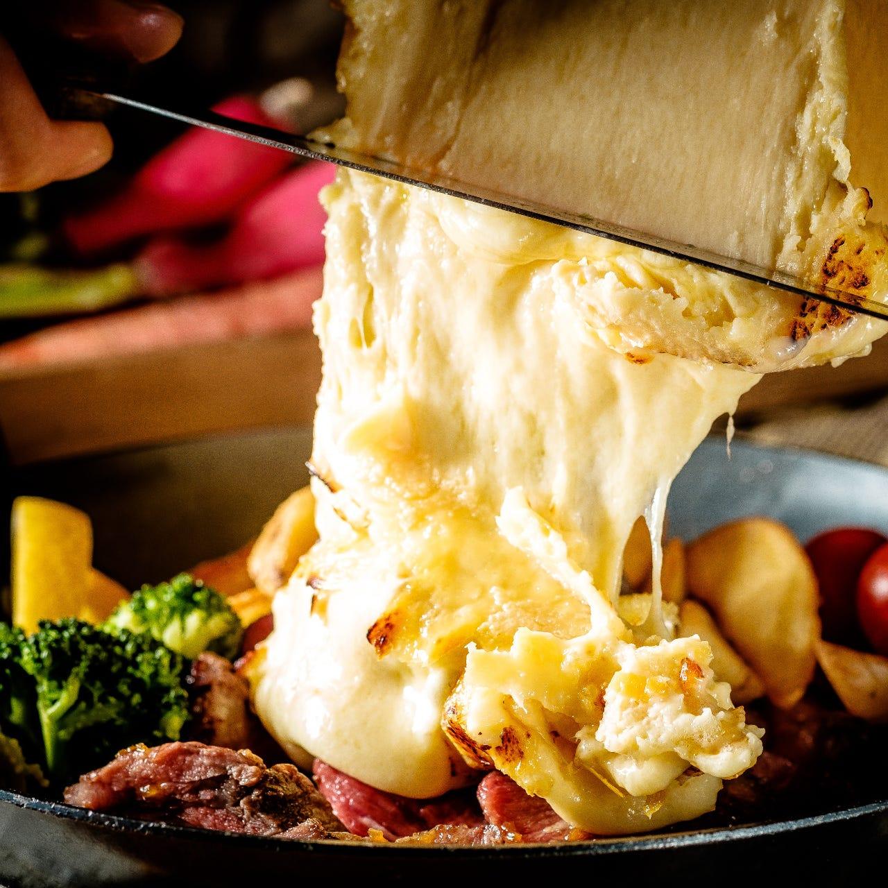 大人気!チーズ料理
