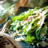 ロメインレタスの丸ごとグリルシーザーサラダ