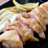但馬鶏温タタキ 新鮮な朝引き鶏をどうぞ!