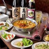 【宴会】 飲み放題付宴会コースは忘新年会や歓送迎会に便利!