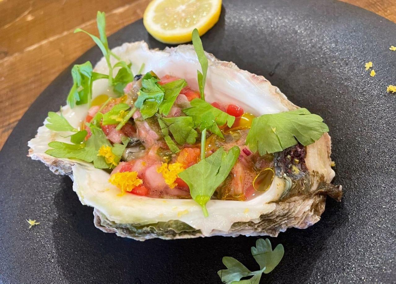 イタリアン風岩牡蠣