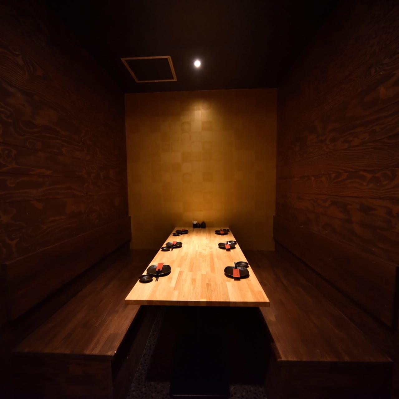 プライベート個室空間♪