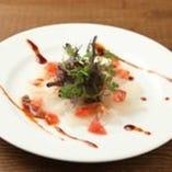 沼津港産 鮮魚のカルパッチョ