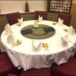 中華の宴会は円卓個室で☆