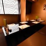 【全席個室】2~18名様までお使い頂ける上質な空間をご用意しております。