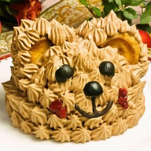 記念日に!くまケーキつきプラン