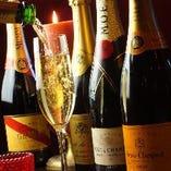 歓送迎会の主役には名入れオリジナルワインボトルもプレゼント!