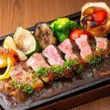 ◆熱々鉄板!サーロインステーキ◆