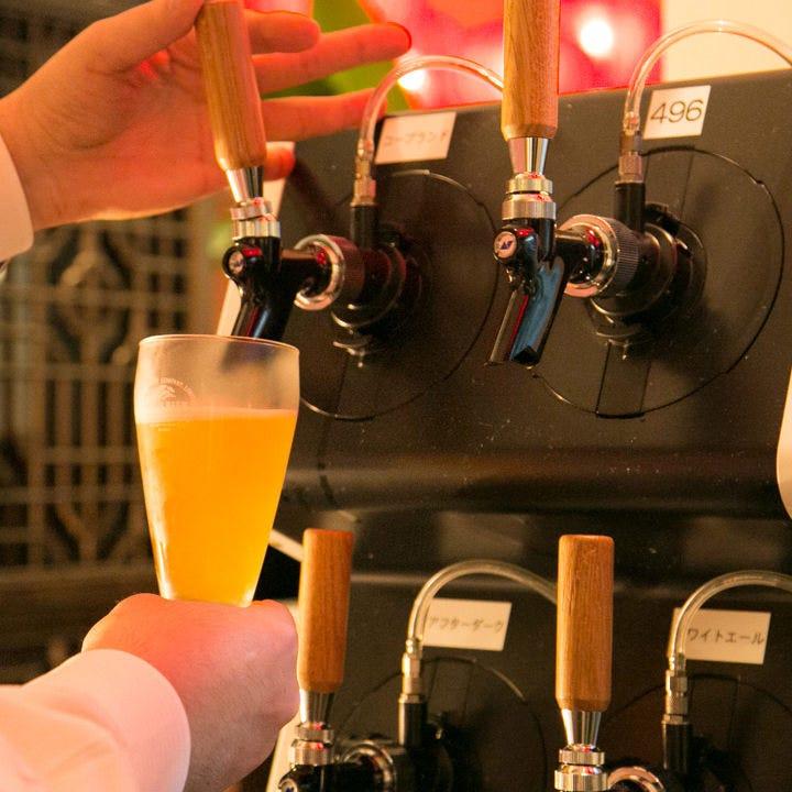 4種類のクラフトビールを飲み比べ