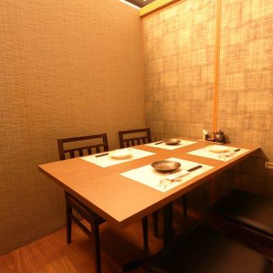 海鮮と創作串天ぷら 個室 魚舟 梅田阪急グランドビル店 店内の画像