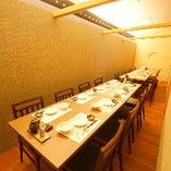 【テーブル個室:3~22名様】中規模宴会に最適。宴会、飲み会にも