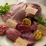 部位ごとに様々な地域から最適な肉を仕入れます◎