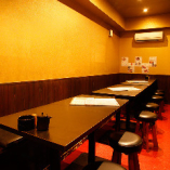 日本酒を堪能できる、心地よいテーブル個室