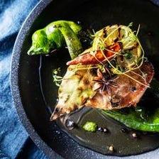【ランチ贅沢コース】前菜から〆まで豪華全7品 特別な日のお祝いにもお勧めコース