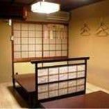 ほっこり実家のような雰囲気の和個室を完備しています