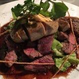 〈多彩な肉料理〉 ワインにピッタリな肉料理を楽しめる!