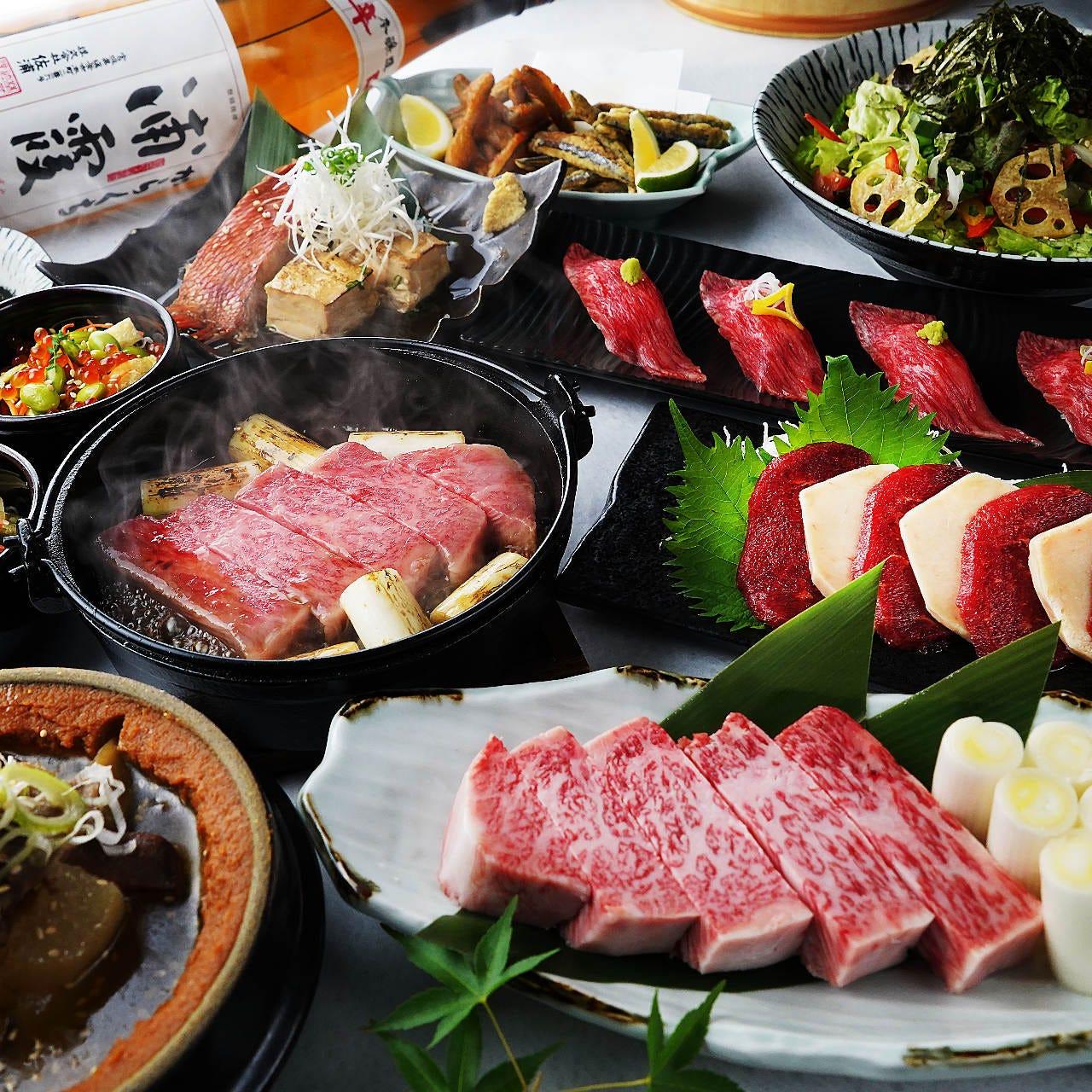 和牛も馬肉も日本屈指の肉料理を堪能