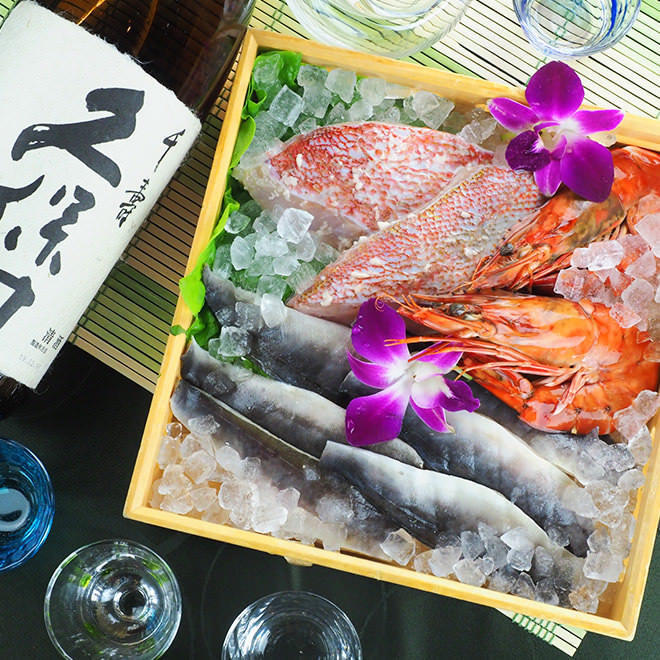 【朝〆鮮魚】毎朝届く新鮮な魚介はお刺身でお楽しみいただけます