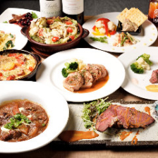 【2時間飲み放題付】肉肉肉!ゲラゲラ自慢の肉料理を堪能『がっつり肉食コース』<全12品> 宴会 飲み会