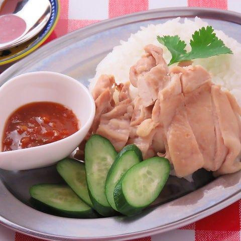 タイ屋台で人気のカオマンガイ