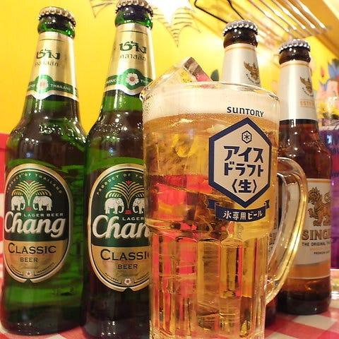 本場タイの人気チャーンビール