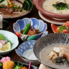 京都の伝統食材・すっぽんづくし『すっぽん鍋とすっぽん雑炊コース』