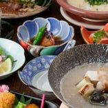 すっぽん鍋とすっぽん雑炊コース