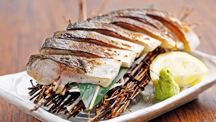 五島列島の「ハーブ鯖」も美味