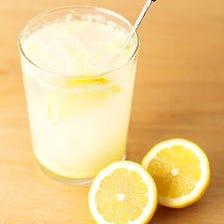 ドリンクも檸檬にこだわってます!