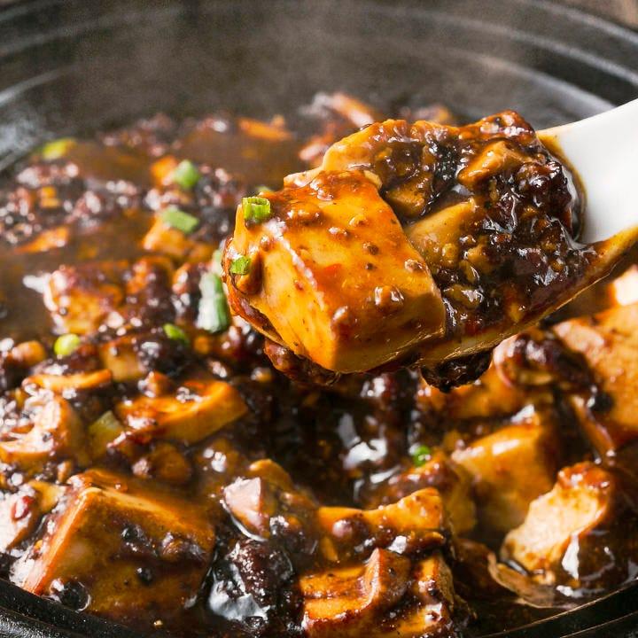 ウマ辛!四川山椒と唐辛子の麻婆豆腐