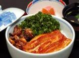 鰻肝焼丼 ¥3255  松川オリジナル商品