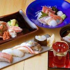 旬の鮮魚を存分味わうコース(セット)