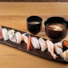 極上の海鮮丼や握り御膳