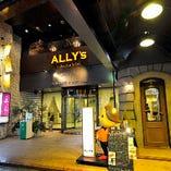 当店は錦通沿いのホテルシルク・トゥリー2Fにございます。