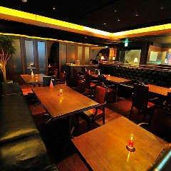 海外のレストランバーのようなお洒落空間でご宴会はいかが?