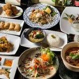【全8品】海鮮タイ料理を味わう『SIAM(サイアム)コース』