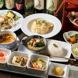 お昼限定:【全7品】様々なタイ料理を楽しむ『月コース』