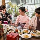 【全5品】着物のレンタルと着付け付 京都観光におすすめ『京町華コース』