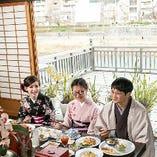 京都の街並みを観光で楽しんでいただき、築90年以上の京町家を改装した当店で、お料理を楽しんでいただけます。