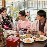 〈京町華コース〉 着物のレンタル付コース。京都観光に是非。