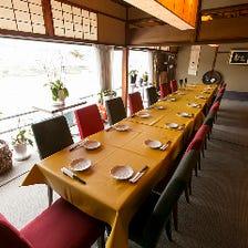築90年以上の京町家を改装した和空間